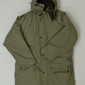 London Fog Regular L Green   Jacket Polyester Soli